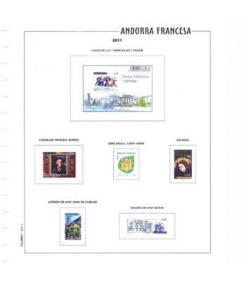 FILOBER Color Andorra Fr. 2018 montado con estuches Hojas FILOBER Color - 2