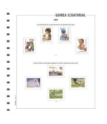 FILOBER Color Guinea 2018 sin montar Hojas FILOBER Color - 2