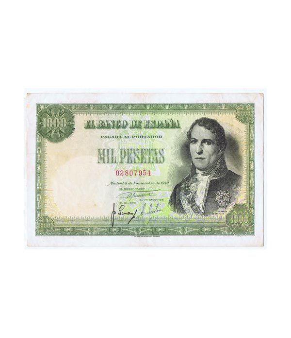 (1949/11/04) Madrid. 1000 Pesetas. MBC+. Serie 02807954  - 1