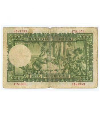 (1951/12/31) Madrid. 1000 Pesetas. BC. Sin serie 4781353  - 4