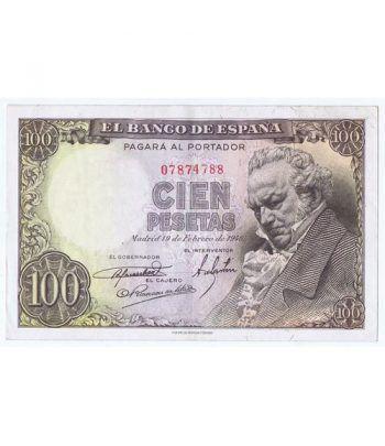(1946/02/19) Madrid. 100 Pesetas. MBC+. Sin Serie 07874788  - 1
