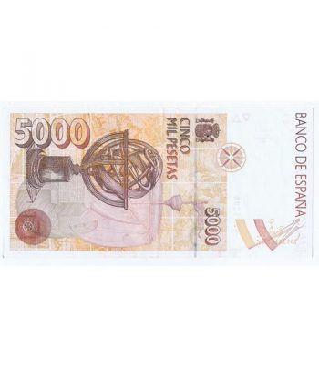 (1992/10/12) Madrid. 5000 Pesetas. EBC. Sin Serie 4275298  - 4