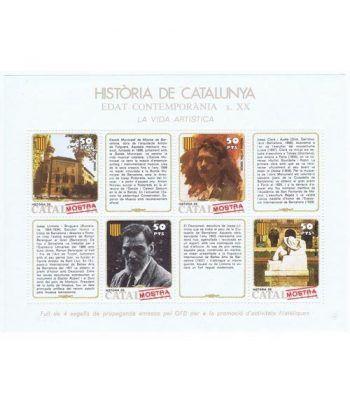 Història de Catalunya nº47 S. XX. La vida artística. MOSTRA  - 2