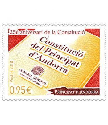 821. 25 Aniversari de la Constitucio Andorra Fsa.  - 2