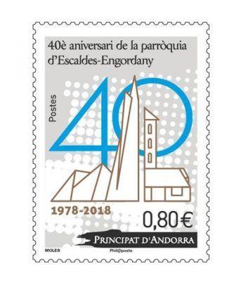 826. 40 Aniversari parroquia Escaldes-Engordany  - 2