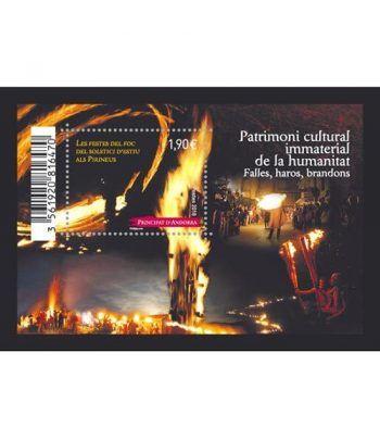 825 HB Patrimoni de la humanitat. Festes del foc.  - 2
