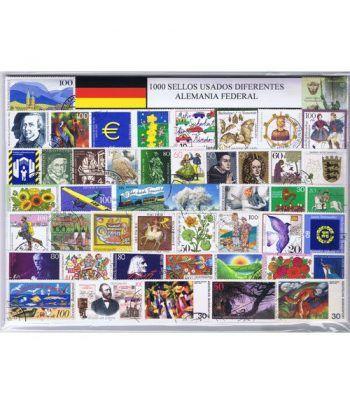 Alemania Federal 1000 sellos usados diferentes  - 2