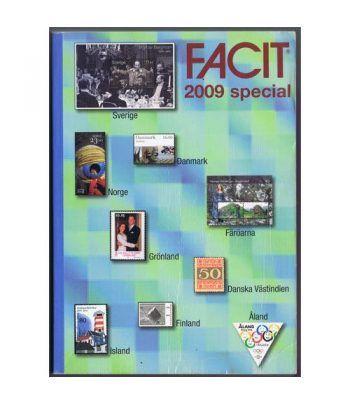 Catalogo de sellos FACIT Países Nórdicos 2009. Catalogos Filatelia - 1