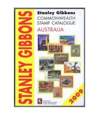 Stanley Gibbons Catálogo sellos Commonwealth Australia 2009. Catalogos Filatelia - 1