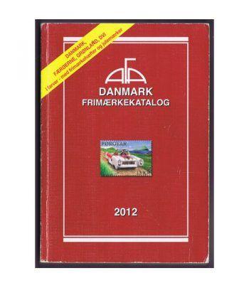 Catálogo de sellos ASCAT Dinamarca 2012 + Bloque cuatro 2009. Catalogos Filatelia - 1