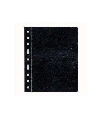 LEUCHTTURM hojas Vario separadoras. Hojas plasticas negras Hojas Clasificadoras - 2