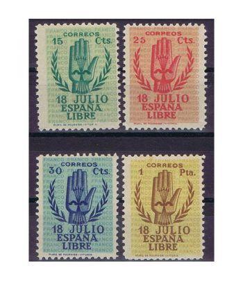 0851/54 II Aniversario Alzamiento Nacional. Fijasellos.  - 1