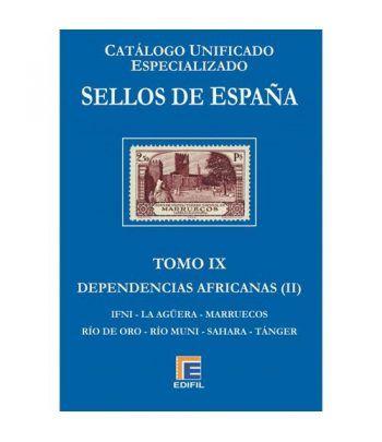 EDIFIL España Serie azul 2018 especializado Tomo IX. Catalogos Filatelia - 2