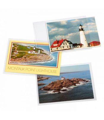 LEUCHTTURM Funda (145 x 95) Postales antiguas (50 unidades) Bolsas archivo - 2