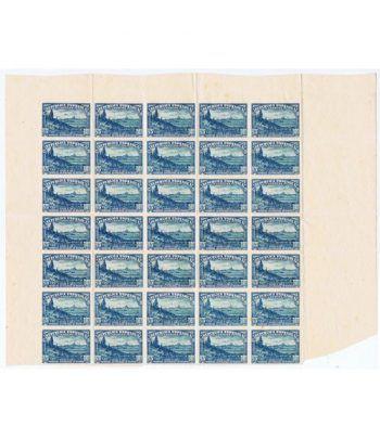 0757 SD Defensa de Madrid. Bloque de 35 sellos  - 1