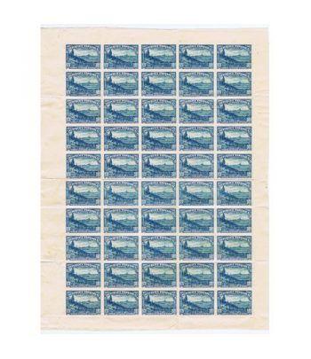 0757 SD. Defensa de Madrid. Pliego de 50 sellos  - 1