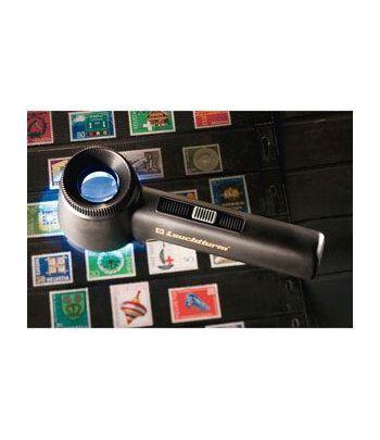 LEUCHTTURM Lupa de apoyo-LED LU 150 ( 10x ). Lupas - 2