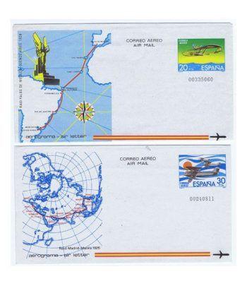 Colección Aerogramas de España 1981/96  - 1
