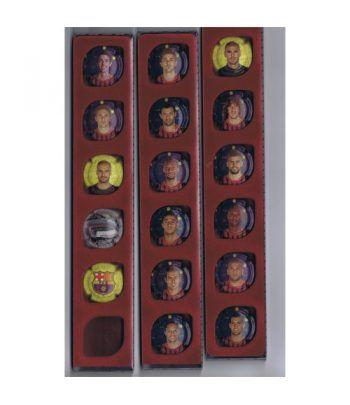 Placas de Cava. Colección oficial FC Barcelona. 17 Jugadores.  - 2
