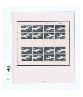 Colección Sellos de Israel Minipliegos 1963 al 2016. LUJO  - 1