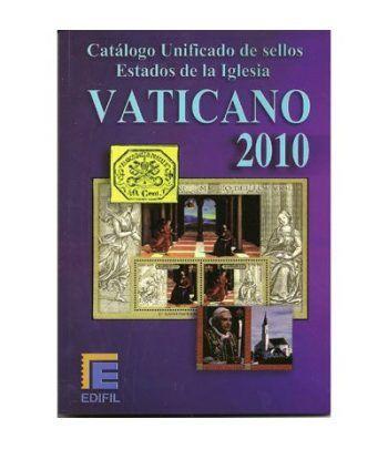 EDIFIL Catalogo unificado sellos Vaticano 2010. Catalogos Filatelia - 2