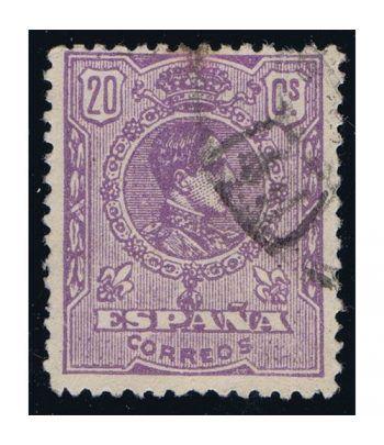 0273 Alfonso XIII. 20c. Violeta. Matasellos.  - 1
