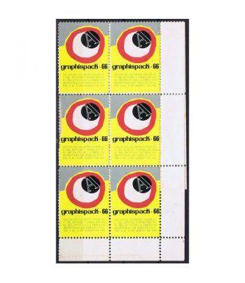 Viñetas Salón Artes Gráficas Graphispack Barcelona 1966. 10  - 1