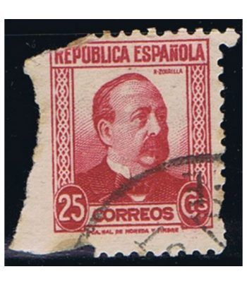 0685 Manuel Ruiz Zorrilla. Matasellos  - 2