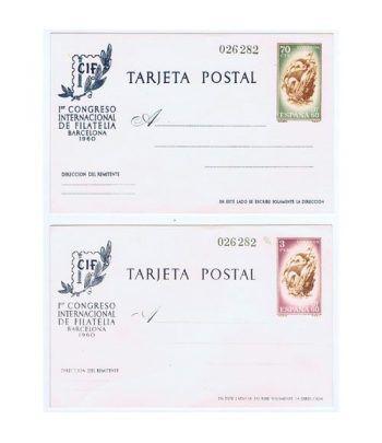 Entero Postal Año 1960 CIF. Mismo número.  - 2