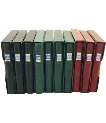 Colección Sellos de Naciones Unidas 1951/2017. 10 albumes.  - 1