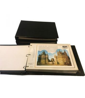 Colección de sellos Francia CEF. 205 Fichas 1977/82  - 1