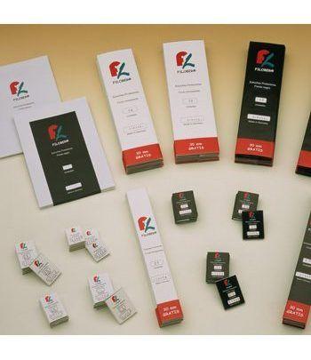 FILOBER 240x52 (paquetes de 25) Estuches protectores sellos - 2
