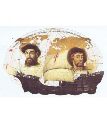 Emisión conjunta 2019 España-Portugal Magallanes Elcano.  - 2