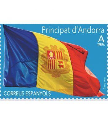 478 Serie Básica 2019. Bandera de Andorra  - 2
