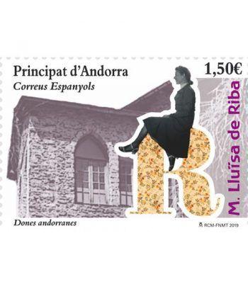 481 Dones Andorranes. M. LLuïsa de Riba  - 2