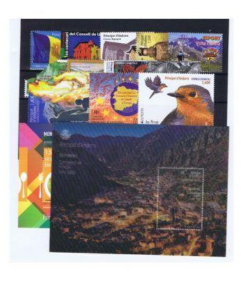 Andorra Española año completo sellos 2019  - 2