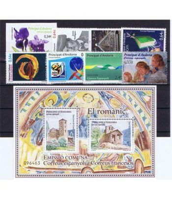 Andorra Española año completo sellos 2010  - 2