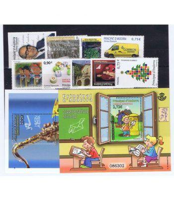 Andorra Española año completo sellos 2013  - 2