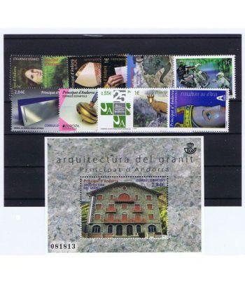 Andorra Española año completo sellos 2015  - 2