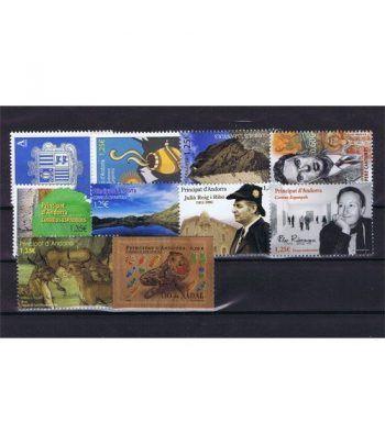 Andorra Española año completo sellos 2017  - 2