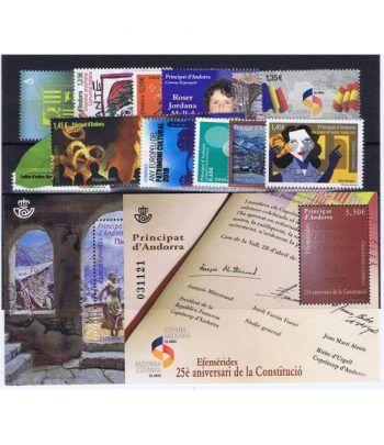 Andorra Española año completo sellos 2018  - 2