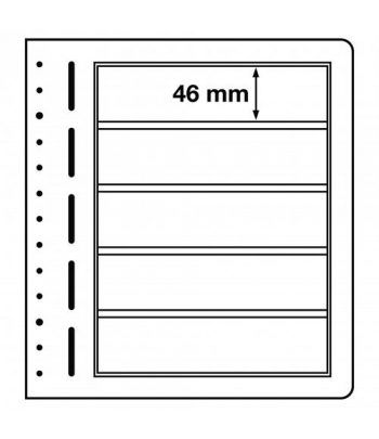 LEUCHTTURM hojas en blanco LB 5 divisiones. Hojas Clasificadoras - 1