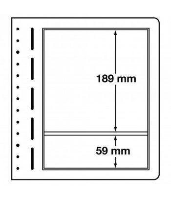 LEUCHTTURM hojas en blanco LB 2 MIX. 2 divisiones variadas. 10 Hojas Clasificadoras - 1