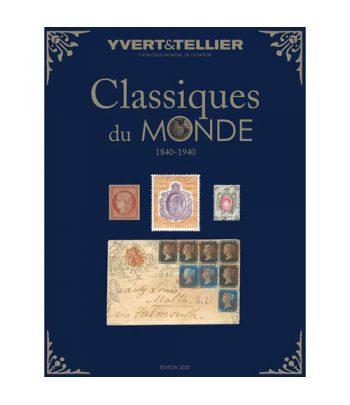 YVERT ET TELLIER Tomo Clásicos del mundo (1840/1940) 2020 Catalogos Filatelia - 1