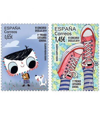 Sello de España 5380/1 VI Concurso Disello 2019.  - 1