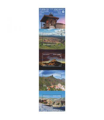 Sello de España 5383/6 Pueblos con encanto 2020  - 2