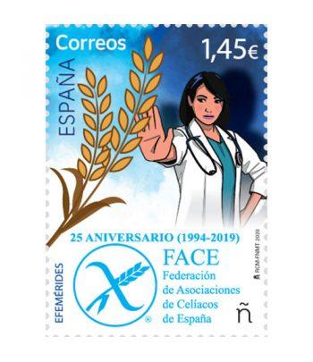 Sello de España 5387 25 aniversario Federación de Asociaciones de Celíacos de España  - 2