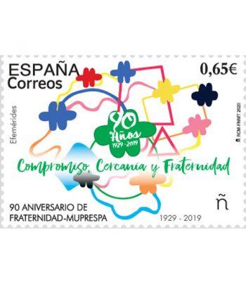Sello de España 5388 FRATERNIDAD-MUPRESPA 90 Aniversario 1929-2019  - 2