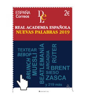 Sello de España 5390 Nuevas palabras Real Academia de la Lengua.  - 1
