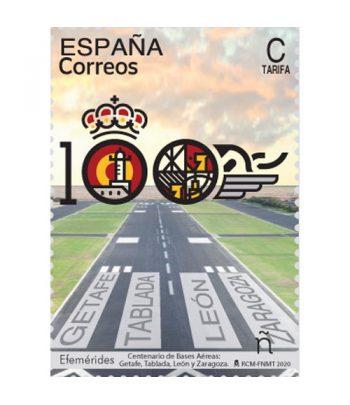 Sello de España 5395 Centenario de las Bases Aéreas  - 1